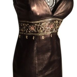 North Beach Leather Dresses - North Beach Leather Dress and Jacket